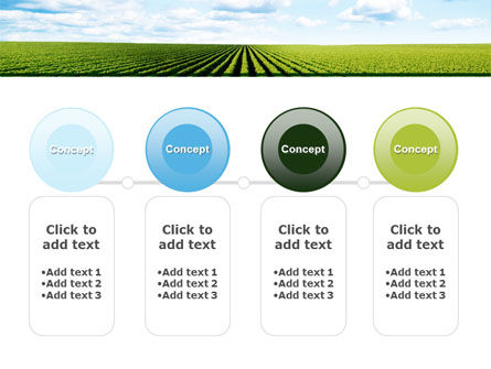 Cultivated Field PowerPoint Template Slide 5