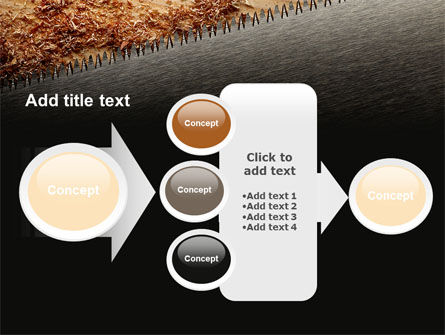 Saw PowerPoint Template Slide 17