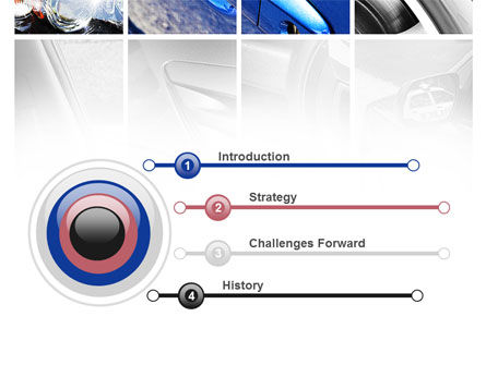 Car Parts PowerPoint Template, Slide 3, 09218, Cars and Transportation — PoweredTemplate.com