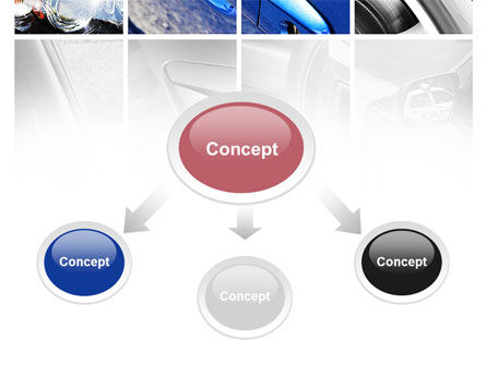 Car Parts PowerPoint Template, Slide 4, 09218, Cars and Transportation — PoweredTemplate.com