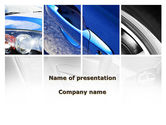 Cars and Transportation: Auto Onderdelen PowerPoint Template #09218
