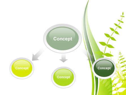 Grass Field PowerPoint Template, Slide 4, 09221, Nature & Environment — PoweredTemplate.com