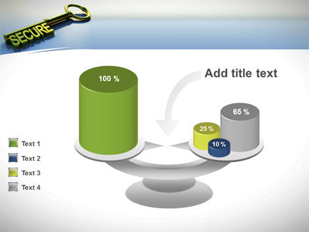 Secure Key PowerPoint Template Slide 10
