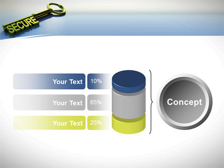 Secure Key PowerPoint Template Slide 11