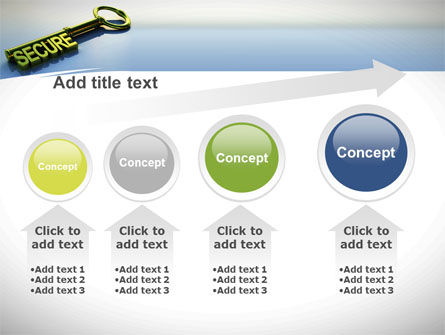 Secure Key PowerPoint Template Slide 13