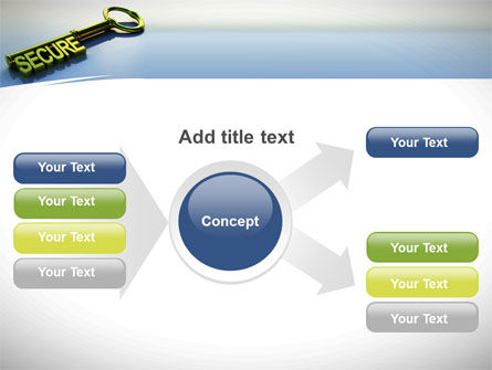 Secure Key PowerPoint Template Slide 14