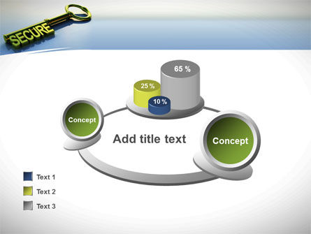 Secure Key PowerPoint Template Slide 16
