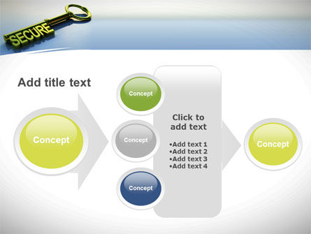 Secure Key PowerPoint Template Slide 17
