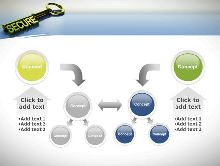 Secure Key PowerPoint Template Slide 19
