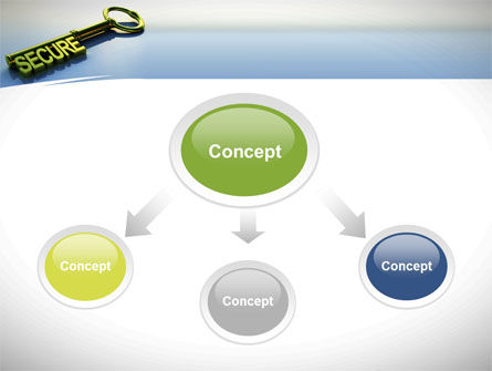 Secure Key PowerPoint Template Slide 4