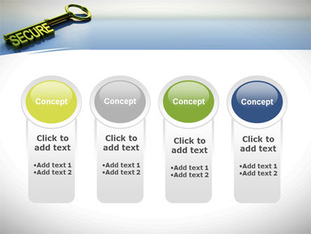 Secure Key PowerPoint Template Slide 5