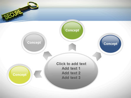 Secure Key PowerPoint Template Slide 7