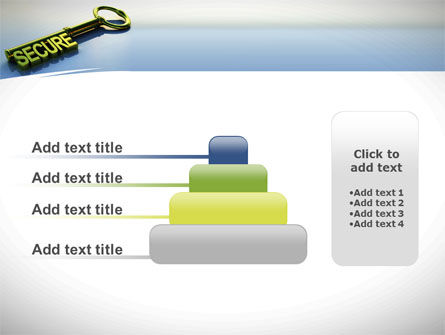 Secure Key PowerPoint Template Slide 8