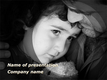 People: Father and Daughter PowerPoint Template #09226