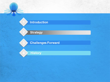 World Directions PowerPoint Template Slide 3