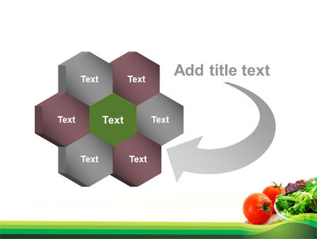 Salad with Tomatoes PowerPoint Template Slide 11