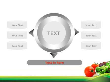 Salad with Tomatoes PowerPoint Template Slide 12