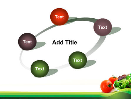 Salad with Tomatoes PowerPoint Template Slide 14
