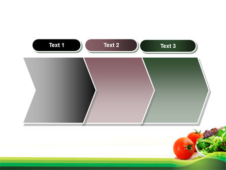 Salad with Tomatoes PowerPoint Template Slide 16