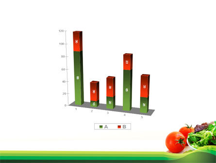 Salad with Tomatoes PowerPoint Template Slide 17
