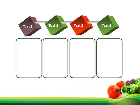 Salad with Tomatoes PowerPoint Template Slide 18