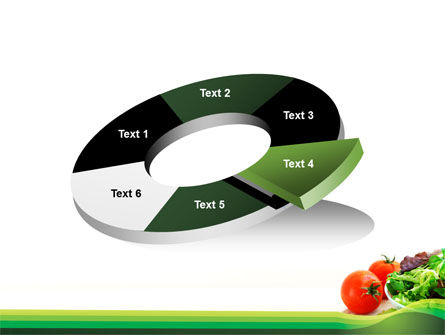 Salad with Tomatoes PowerPoint Template Slide 19