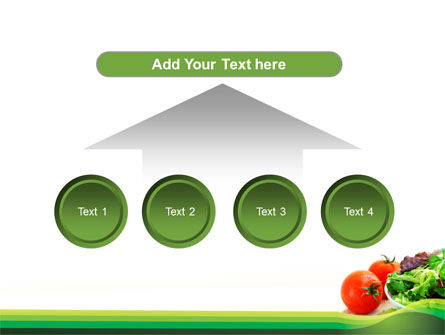 Salad with Tomatoes PowerPoint Template Slide 8