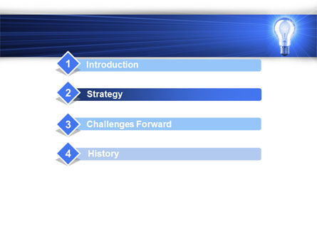 Great Idea PowerPoint Template, Slide 3, 09233, Careers/Industry — PoweredTemplate.com
