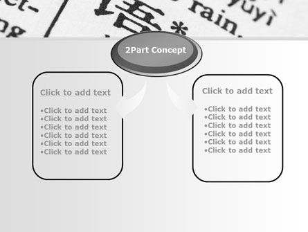 Chinese Script PowerPoint Template Slide 4