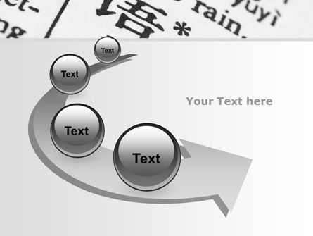 Chinese Script PowerPoint Template Slide 6