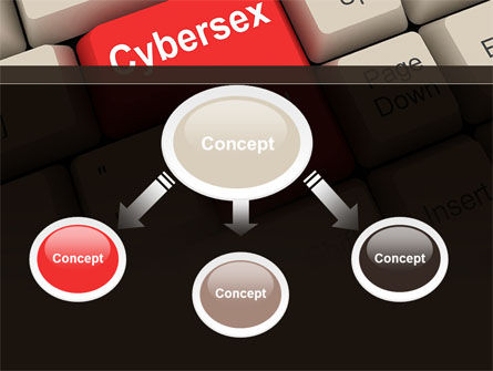 Cybersex PowerPoint Template, Slide 4, 09235, Computers — PoweredTemplate.com
