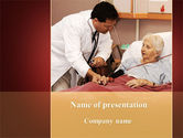 Medical: Elder Cares PowerPoint Template #09238