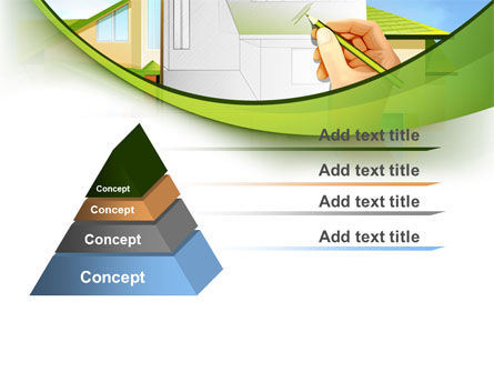 Cottage Construction Chart PowerPoint Template Slide 12