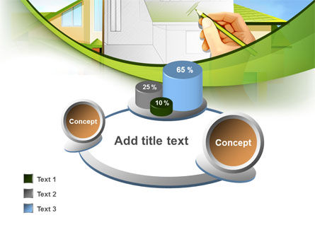Cottage Construction Chart PowerPoint Template Slide 16