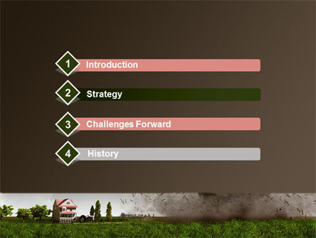 tornado powerpoint template, backgrounds | 09251 | poweredtemplate, Modern powerpoint