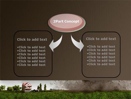 Tornado PowerPoint Template, Slide 4, 09251, Nature & Environment — PoweredTemplate.com