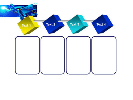 Blue Abstract Constructions PowerPoint Template Slide 18