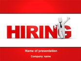 Careers/Industry: Hiring PowerPoint Template #09255