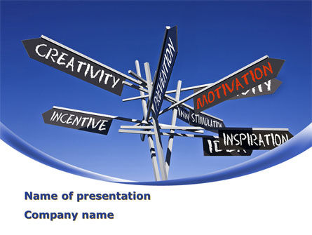 Consulting: Improving Motivation PowerPoint Template #09257