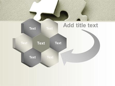 Puzzle Pieces PowerPoint Template Slide 11