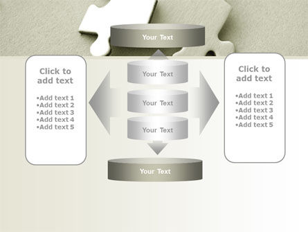 Puzzle Pieces PowerPoint Template Slide 13