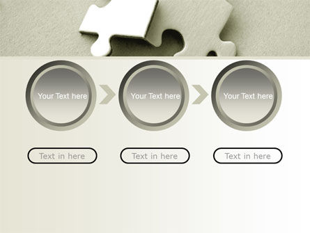 Puzzle Pieces PowerPoint Template Slide 5