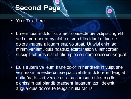 Flagella PowerPoint Template, Slide 2, 09267, Medical — PoweredTemplate.com