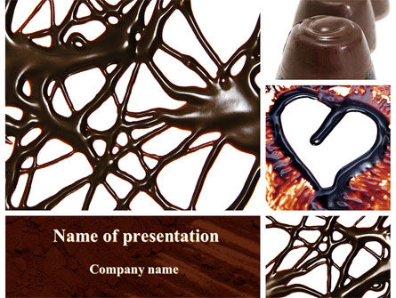 Food & Beverage: Chocolate PowerPoint Template #09268