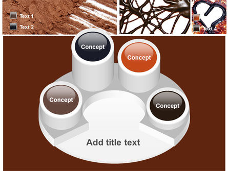 Chocolate PowerPoint Template Slide 12