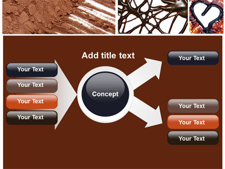 Chocolate PowerPoint Template Slide 14