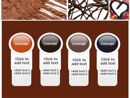 Chocolate PowerPoint Template Slide 5