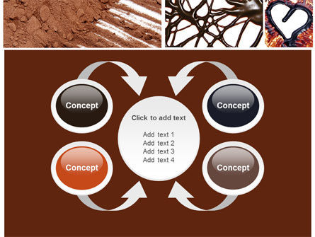 Chocolate PowerPoint Template Slide 6