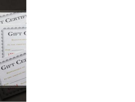 Gift Certificate PowerPoint Template, Slide 3, 09270, Financial/Accounting — PoweredTemplate.com