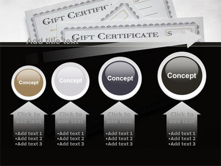Gift Certificate PowerPoint Template Slide 13